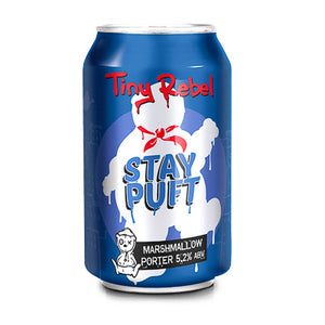 TINY REBEL BREWING - STAY PUFT (marshmallow porter)