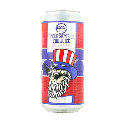 WILD BARREL BREWING - UNCLE SAM'S ON THE JUICE (DNEIPA)