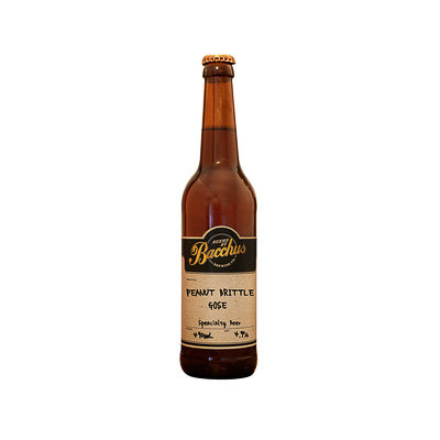 BACCHUS BREWING CO - PEANUT BRITTLE GOSE (Sour Gose)