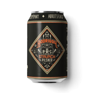BODRIGGY BREWING CO - STAUNCH 6-PACK (pilsner)