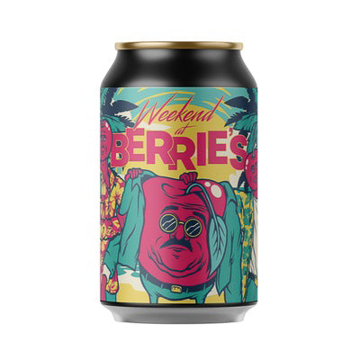 CERVISIAM - WEEKEND AT BERREI'S (cherry gose)