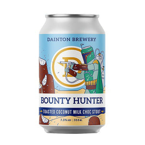 DAINTON BREWERY - BOUNTY HUNTER TOASTED COCONUT MILK CHOC STOUT