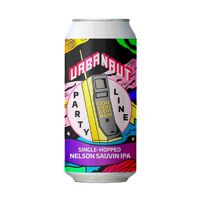 URBANAUT BREWING CO. - SINGLE HOPPED NELSON SAUVIN IPA - PARTY LINE SERIES (IPA)
