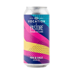 VOCATION BREWERY x PASTOR BREWING AND BLENDING - FEN & VALE (Sour IPA)