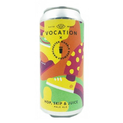 VOCATION BREWERY - HOP SKIP & JUICE (Tropical Pale Ale)