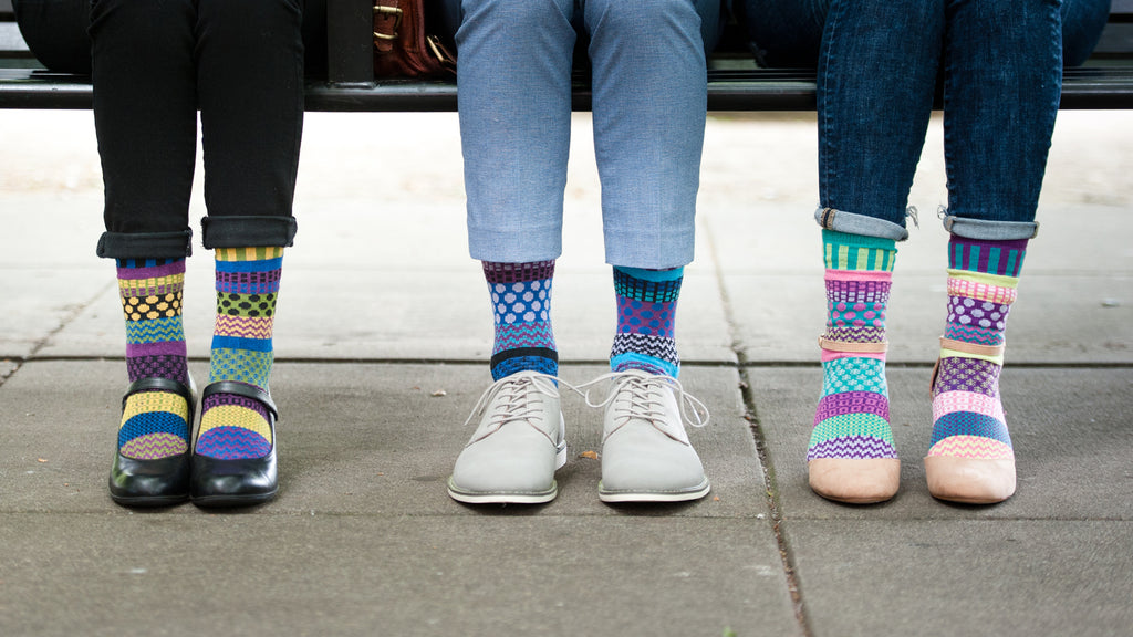 Solmate Socks - Ecofriendly, Mismatched Socks Made in the USA