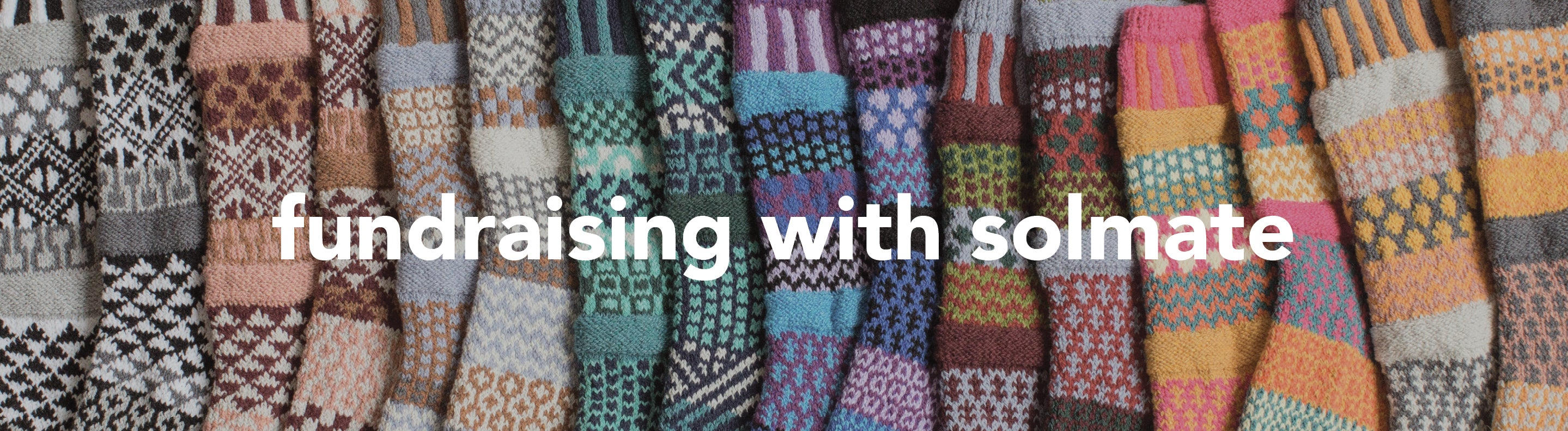 fundraising with solmate socks