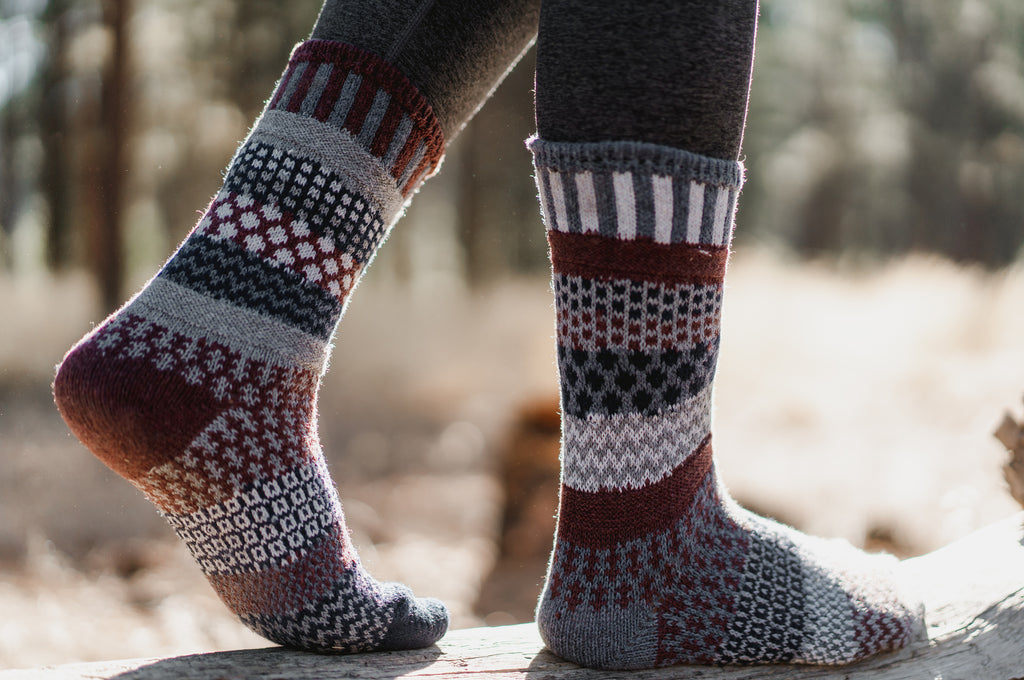 Mahogany Wool Socks
