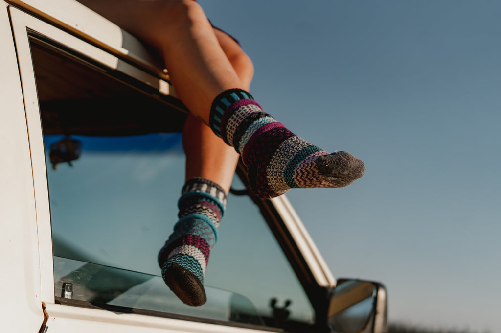 Mulberry Wool Socks