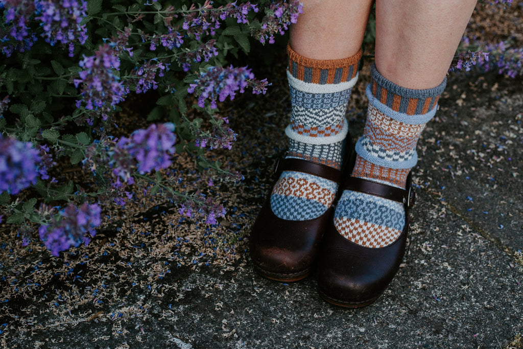 Foxtail Adult Crew Socks