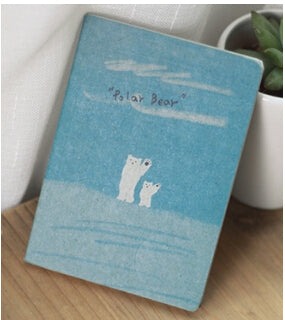Kawaii Mini 12.4*9cm Old Painting Lovely Cute Notebooks for Writing 8 Types Daily Book Stationery Office School Supplies