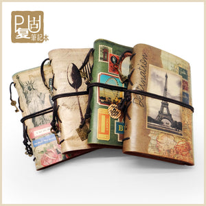 Creative Travelers Journal in Vintage Faux Leather