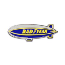 Bummer Blimp Pin