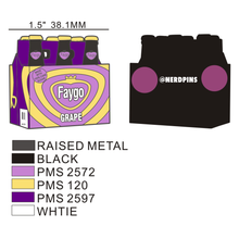 Grape Soda Pin