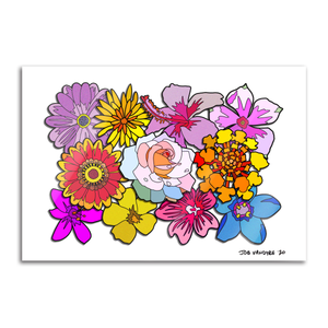 Gorgeous Flowers 13x19 Print