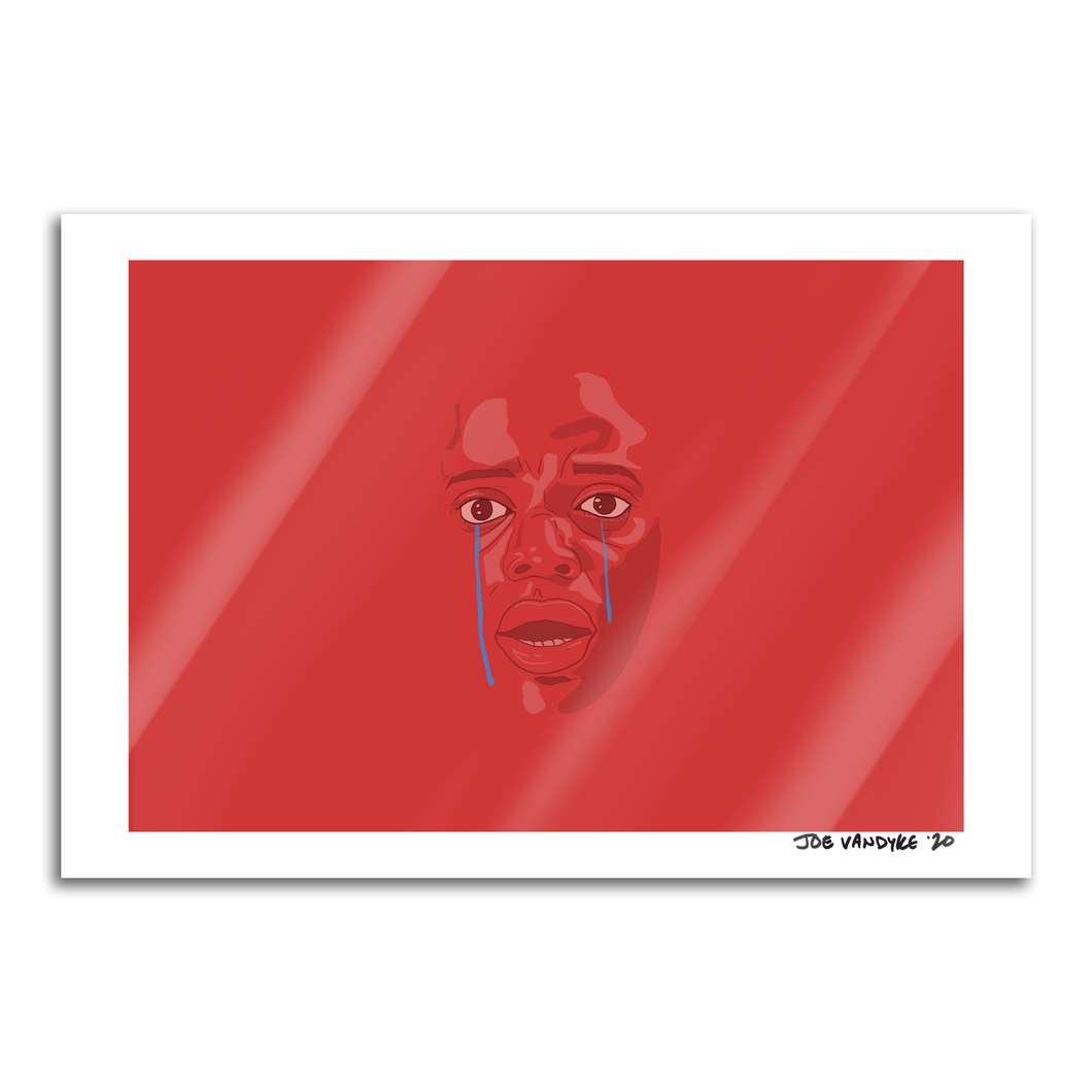 Get Out 13x19 Print