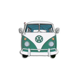 Green Bus Pin