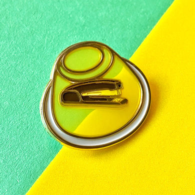 Jello Stapler Pin [Translucent!]