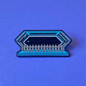 Rise And Resist Pin [Glow!]