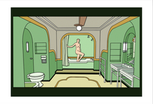 Room 237 Bathroom 13x19 Print