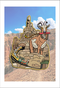 Big Thunder Goat 19x13 Print