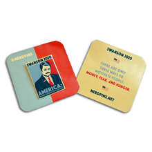 Swanson 2020 Pin [Only 2 Left!]