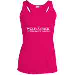 Wolf Pack Ladies Racerback Moisture Wicking Tank