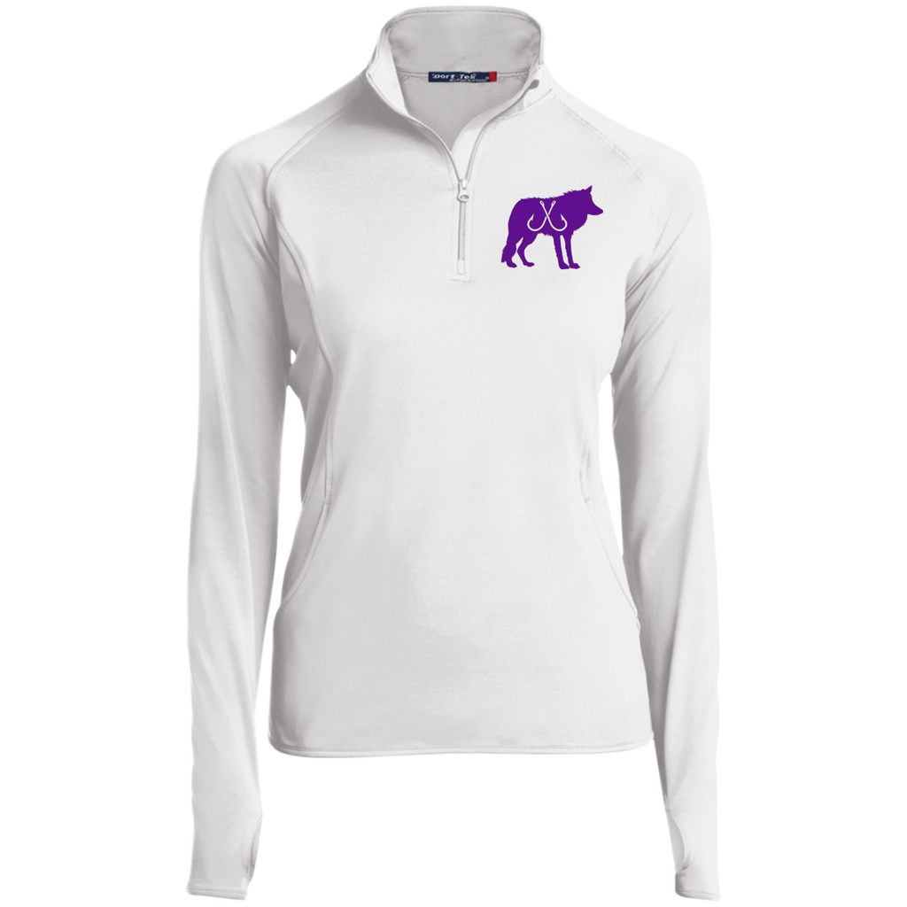 Wolf Pack Purple 1/2 Zip Pullover