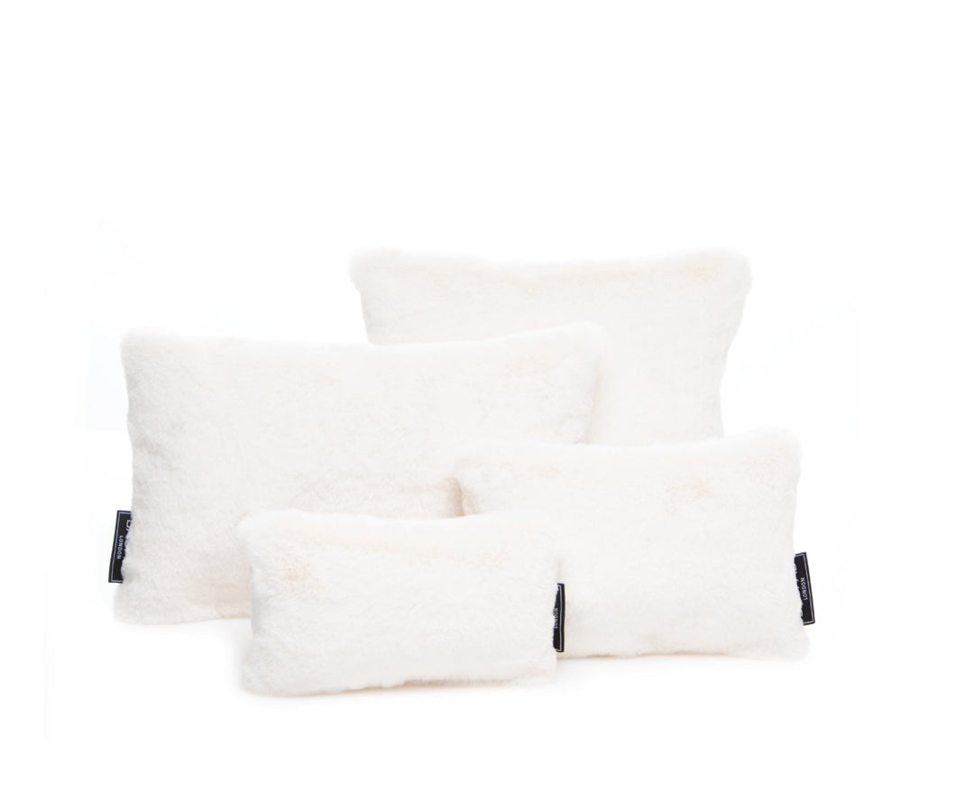 Faux Fur Set of Four Cream Bagpads - Bagpad