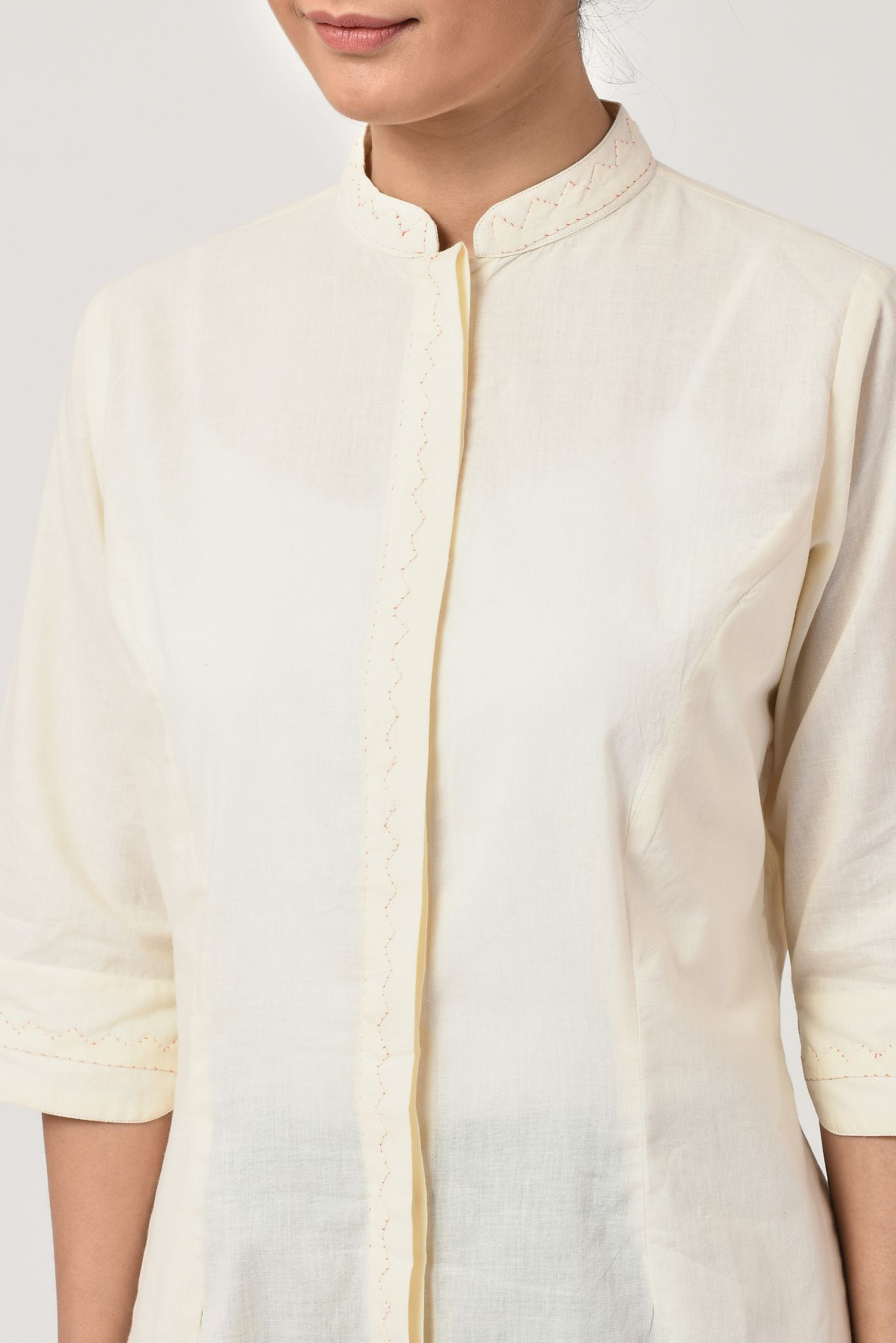 Applique Natural Shirt
