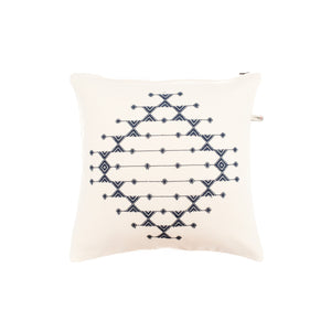 White Extra-weft Cotton Cushion Cover
