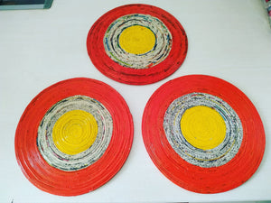 Oange and Yellow Table Mats