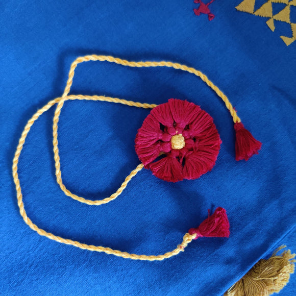 Red Tassels Rakhi