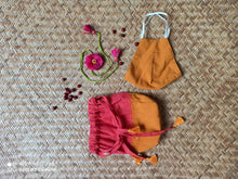 Load image into Gallery viewer, Raksha Kit in Pink and Mustard