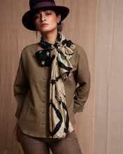 Load image into Gallery viewer, Girl wearing hat, scarf, and olive full sleeves shirt
