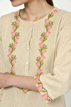 Load image into Gallery viewer, Noorbagh Kurta with Placket Detailing