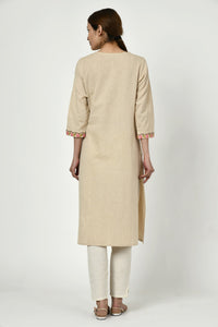 Noorbagh Kurta with Placket Detailing