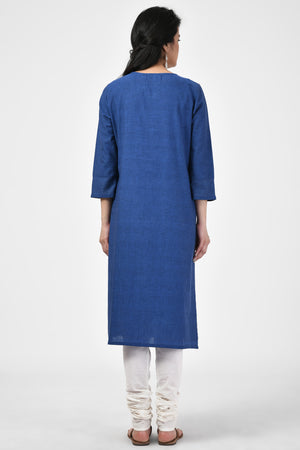 Basic Dark Blue Kurta