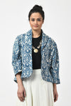 Dabu Indigo Short Jacket