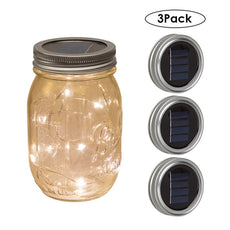 Solar Mason Jar Lights