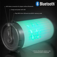 Portable Wireless Speaker USB Rechargeable Battery