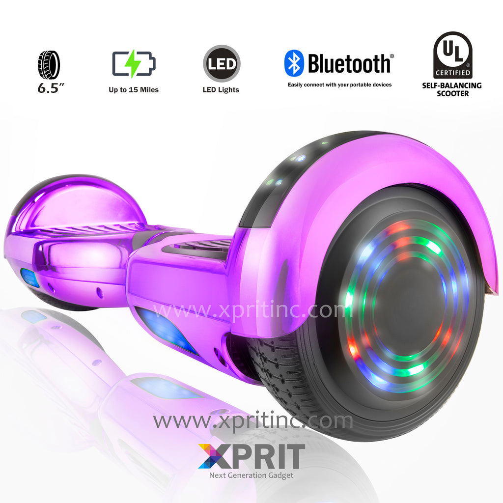 Xprit Hoverboard C1 Plus Purple Free Shipping
