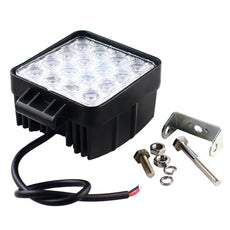 LED 48W Square Flood Light Bar