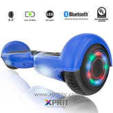 Xprit SBW666 Blue Hoverboard with Bluetooth Free Shipping