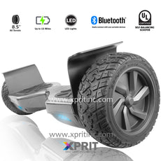 "Xprit 8.5"" Carbon Fiber Wheel All Terrain Hoverboard with Bluetooth"