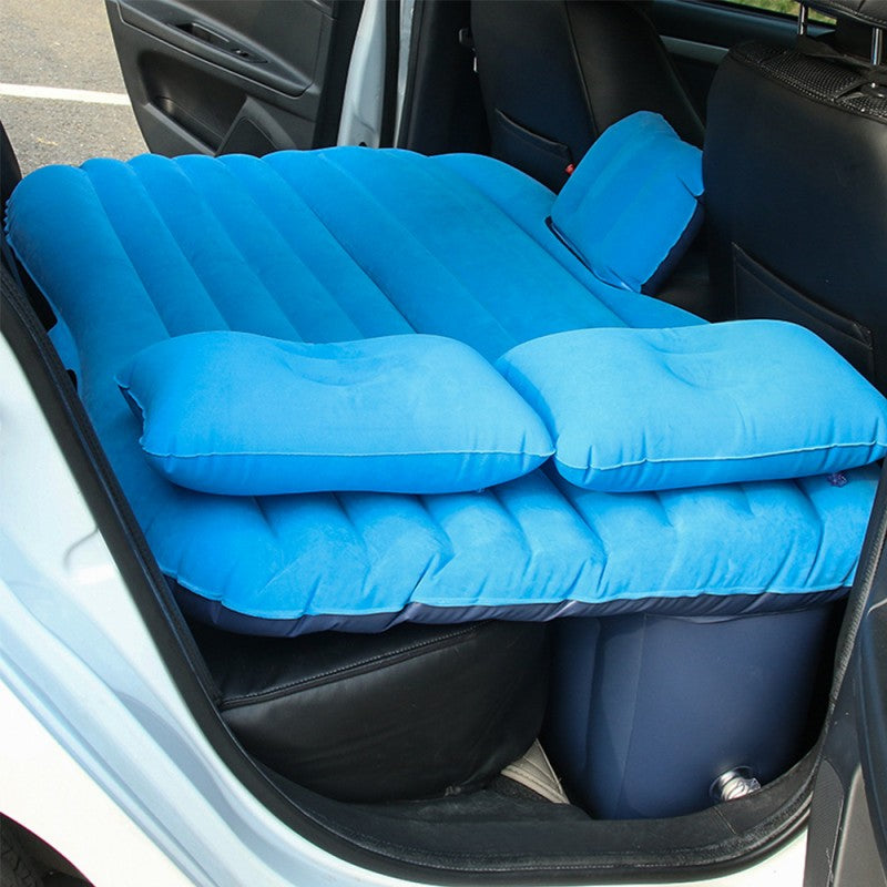 Car Travel Air Mattress (Blue)