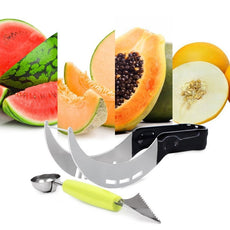 Watermelon Slicer Corer Cutter Knife