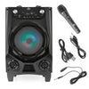 Karaoke Bluetooth Speaker Rechargeable and Wireless (AUX, USB, SD Card input)