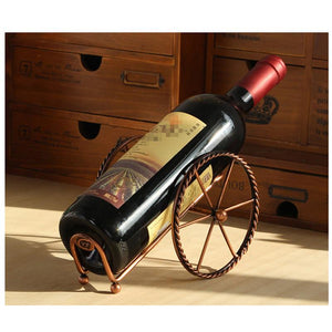 Rustic Wine Cart