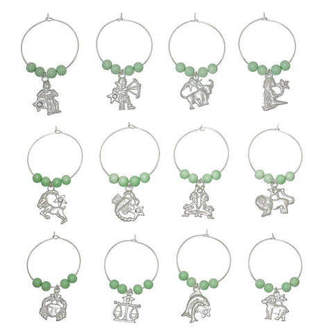 Constellation Wine Glass Charms